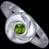 Prstene s kameňmi - Prsteň strieborný, CZ, kruh