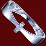 Diamantové prstene - Prsteň zlatý, diamanty, obrúčka