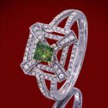 Diamantové prstene - Prsteň zlatý, diamanty