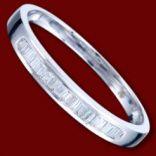 Diamantové prstene - Prsteň zlatý, diamanty, zásnubný, jednoduchý
