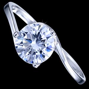 af113120e Prsteň strieborný, CZ, obrúčka 18.75€ - Prstene s kameňmi - Sperky7.sk