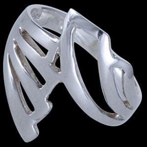 62929cd61 Prsteň strieborný, motýlie krídla 30.16€ - Prstene bez kameňov ...